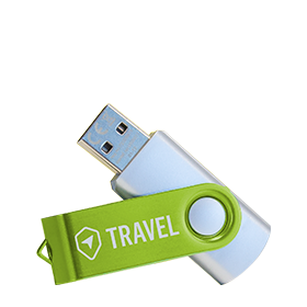 USB sticks graveren
