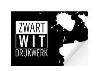 zwart-wit indoor stickers
